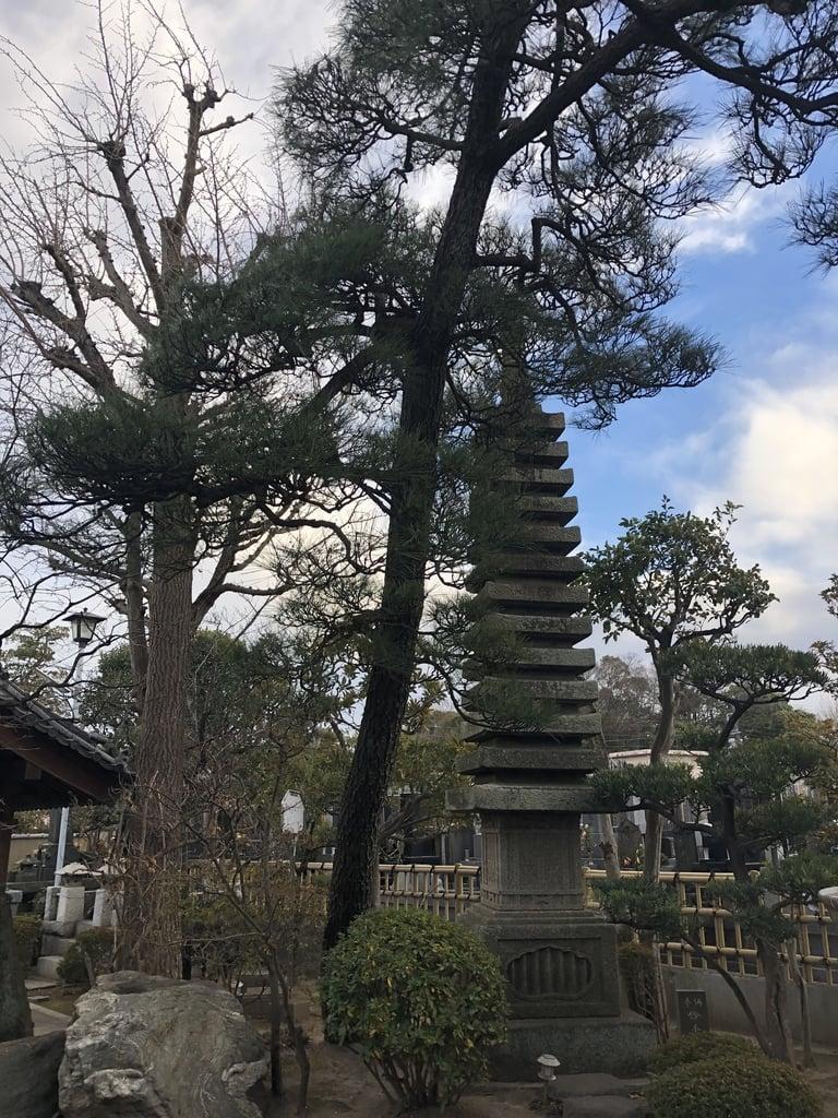 妙勝寺の塔