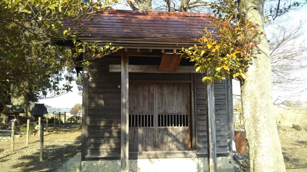 桂木稲荷神社の本殿