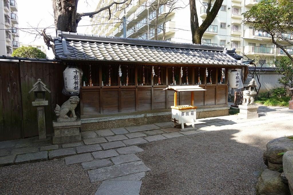 杭全神社の末社・摂社(大阪府平野(JR)駅)