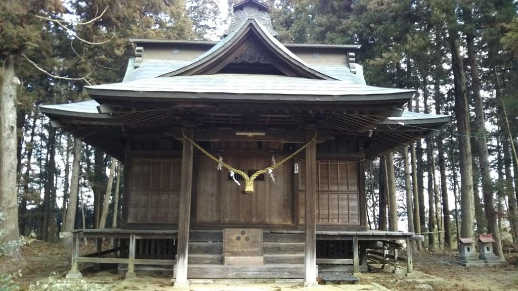 瀧神社の本殿