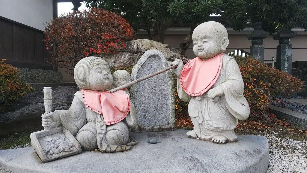 松林寺の地蔵