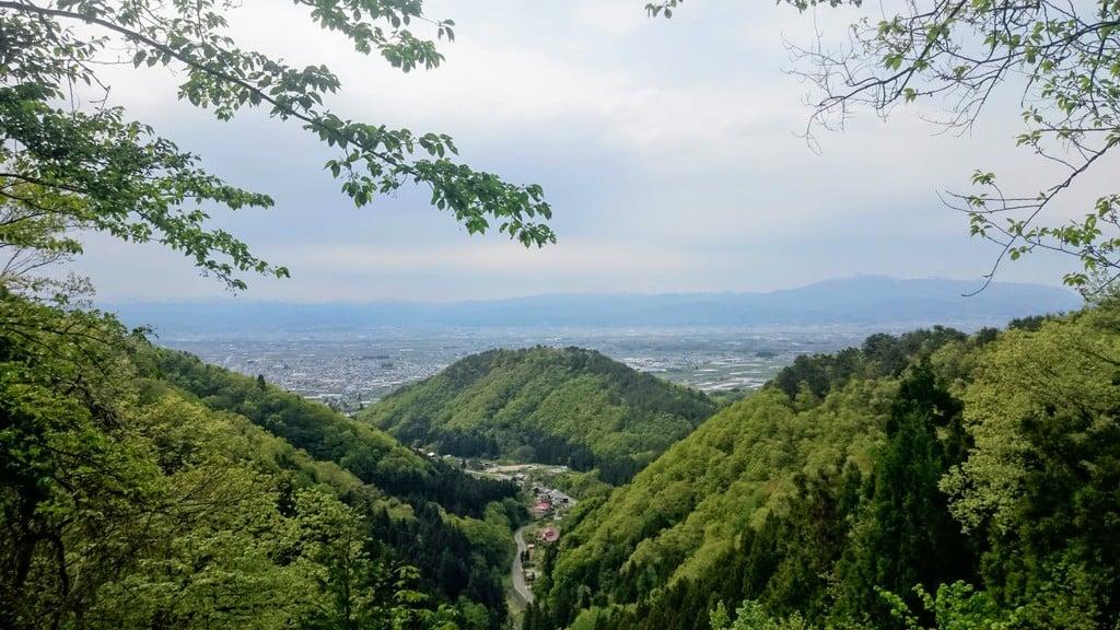 若松寺の景色