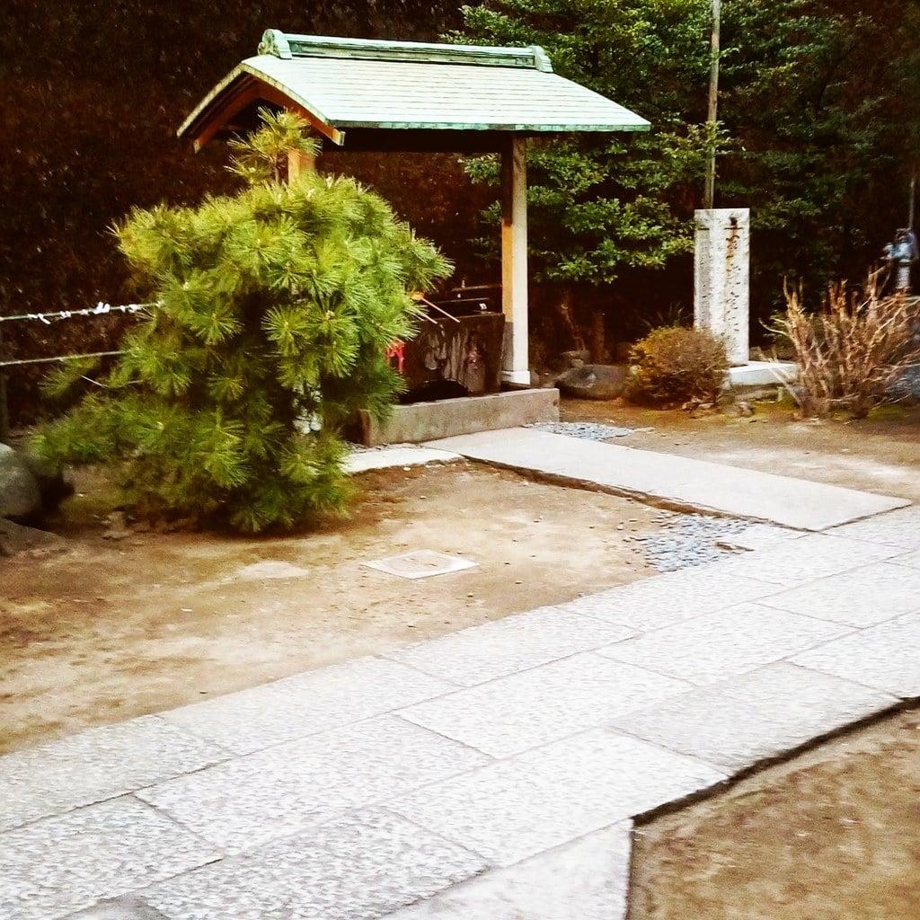 久国神社の手水舎(東京都六本木一丁目駅)