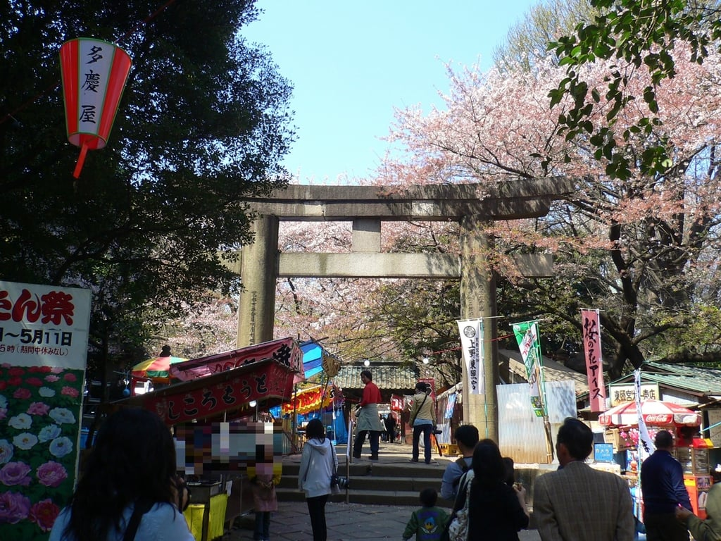 上野東照宮の鳥居