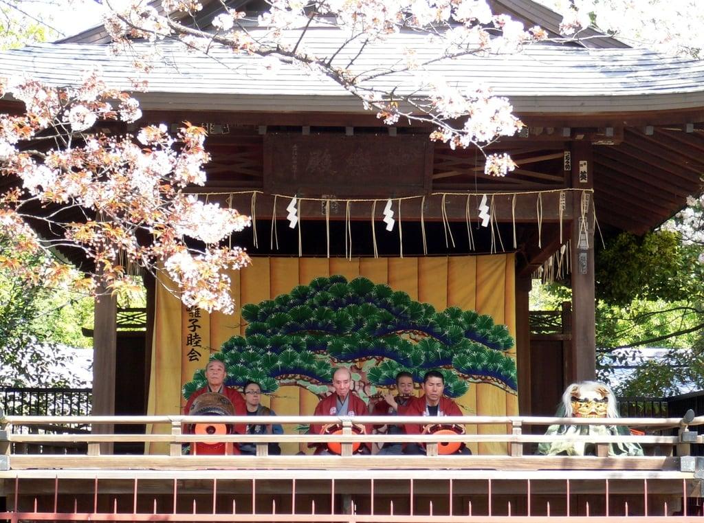 上野東照宮の神楽