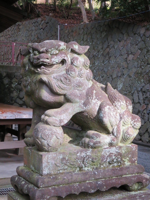 五所神社の狛犬