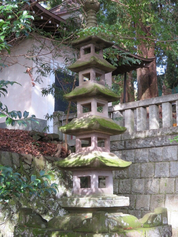 五所神社の塔