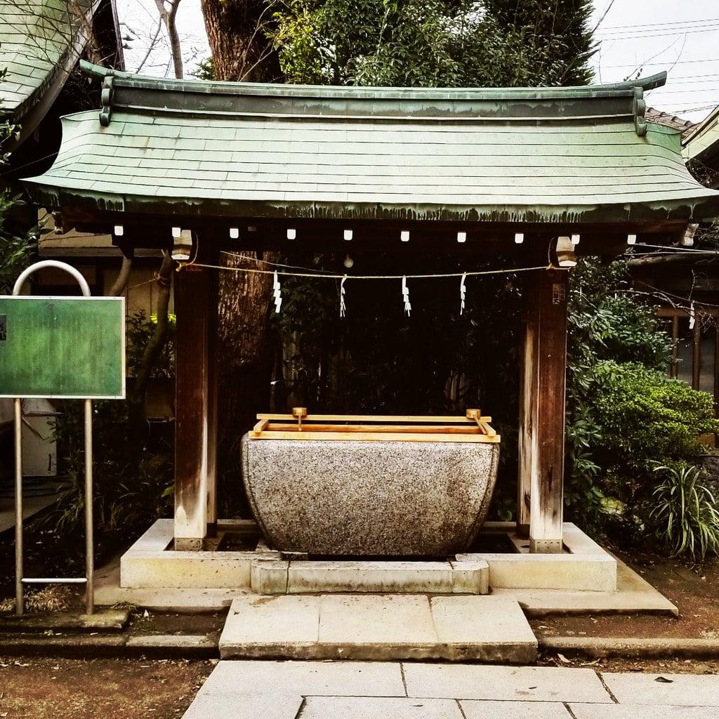 篠崎浅間神社の手水