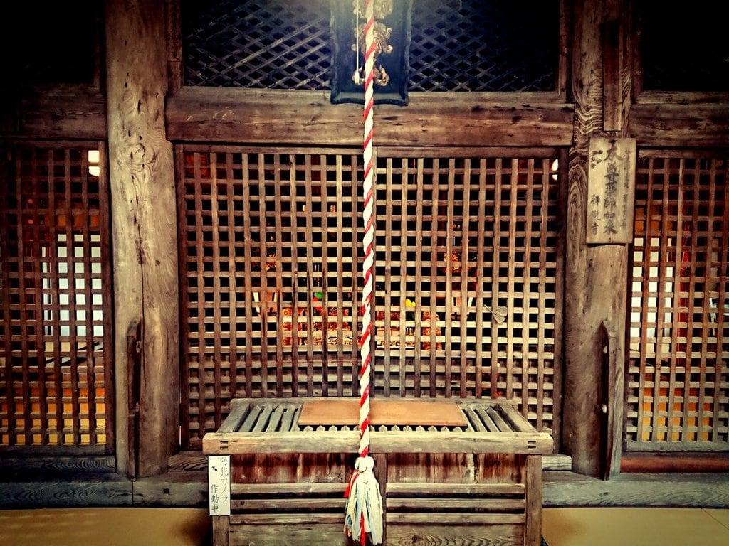 神谷山禅瀧寺の本殿
