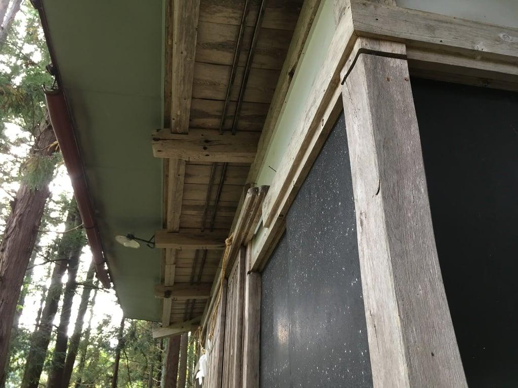中澤神社(長野県蓮駅)