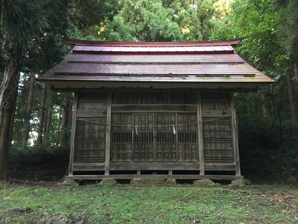 山王神社(長野県蓮駅)