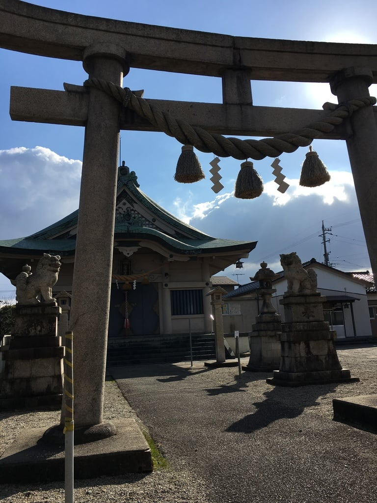 萩浦神社の鳥居
