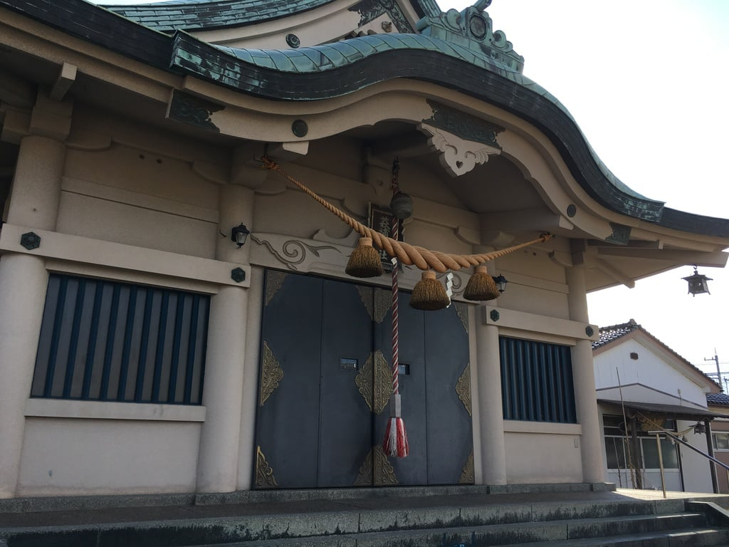 萩浦神社の本殿