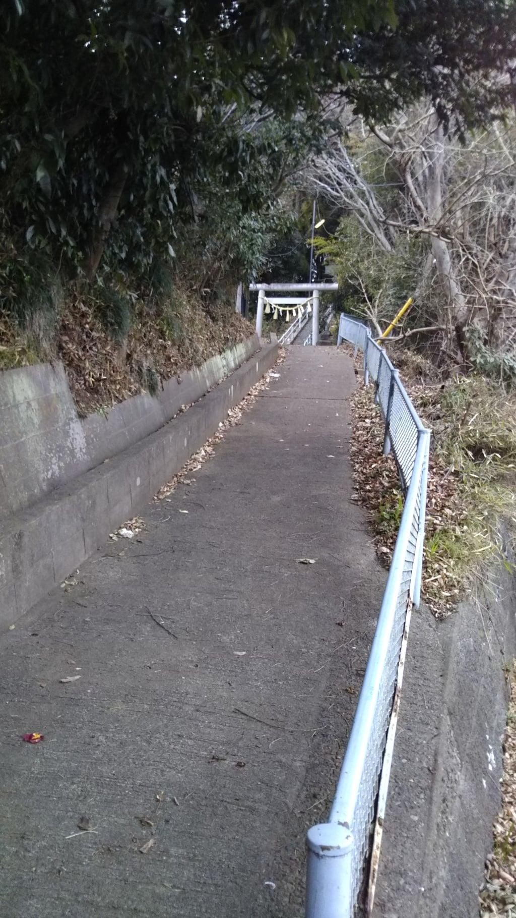 愛宕神社(茨城県河合駅)