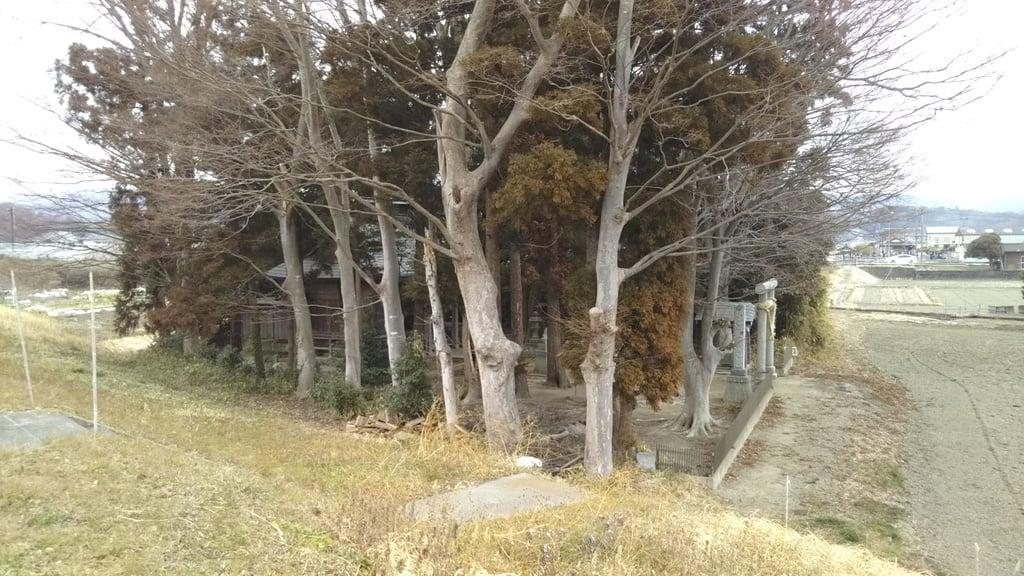 稲荷神社の周辺