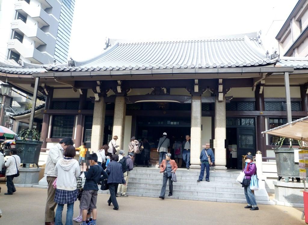 とげぬき地蔵尊 高岩寺の本殿・本堂(東京都巣鴨駅)