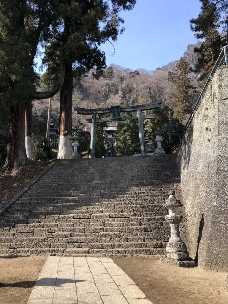 妙義神社の鳥居