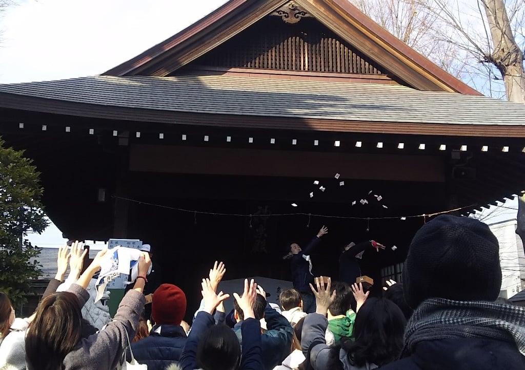 天祖神社のお祭り(東京都西台駅)