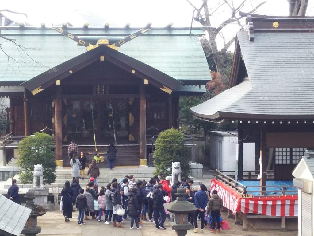 天祖神社の本殿・本堂(東京都西台駅)