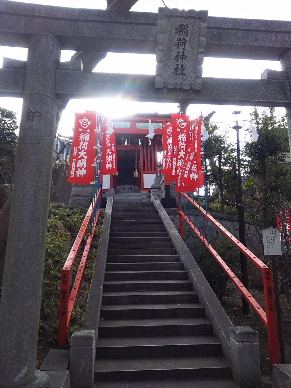 天祖神社の鳥居(東京都西台駅)