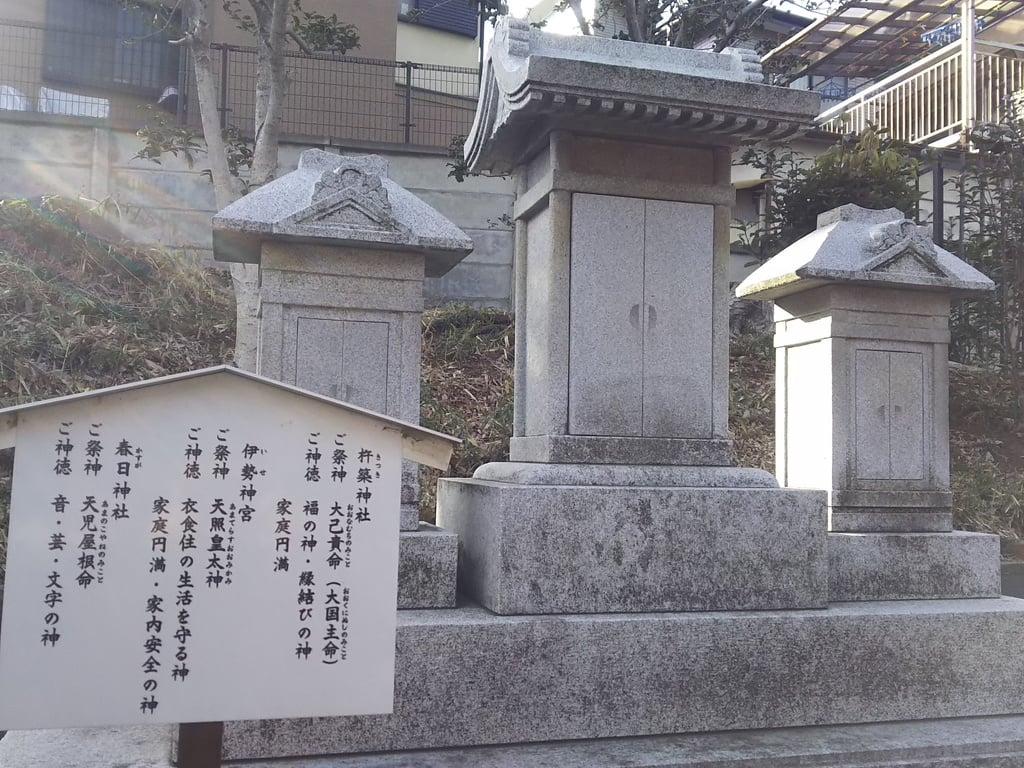 天祖神社の末社・摂社(東京都西台駅)