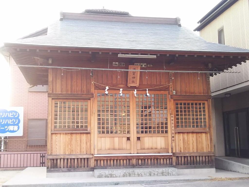 須賀神社(埼玉県蕨駅)
