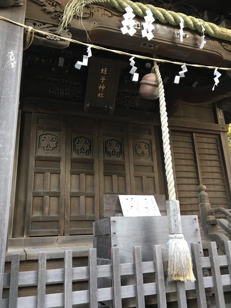 蛭子神社の本殿(神奈川県鎌倉駅)