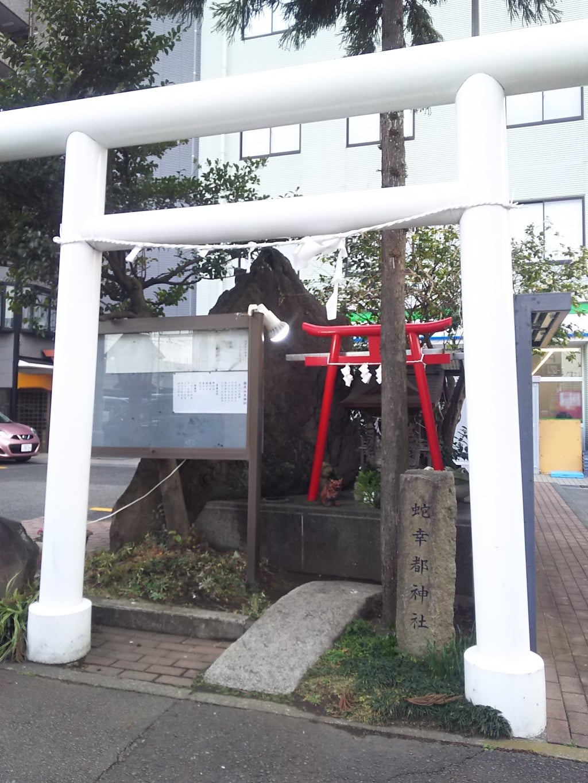 蛇幸都神社の鳥居