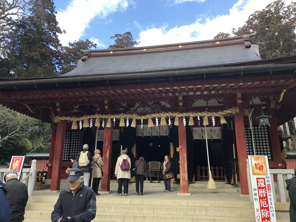 志波彦神社・鹽竈神社の本殿