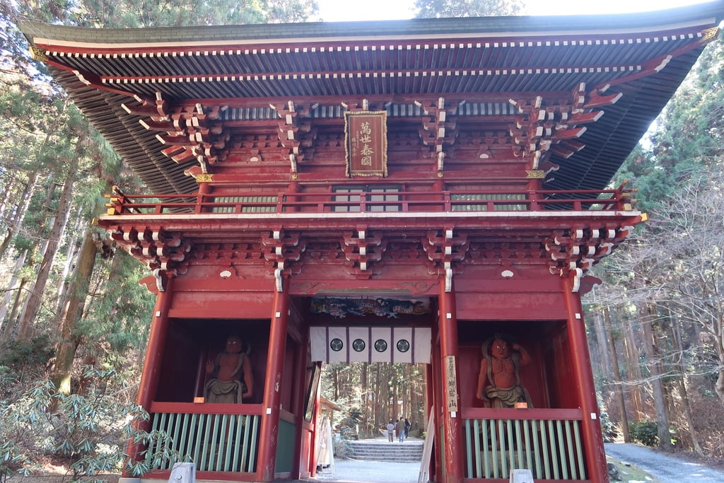 御岩神社の山門