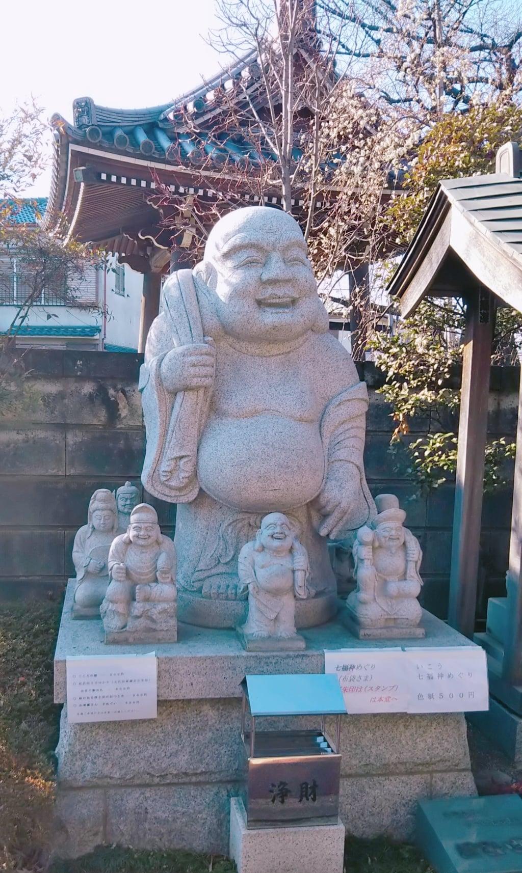 法受寺の仏像