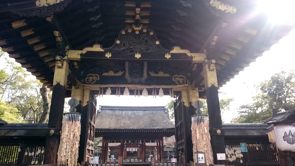 豊国神社の山門
