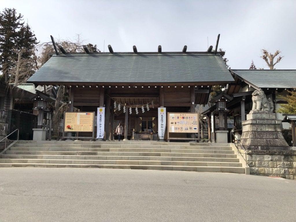開成山大神宮の本殿