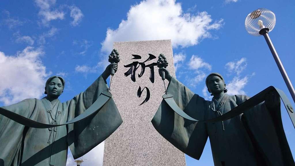 山形縣護國神社の像