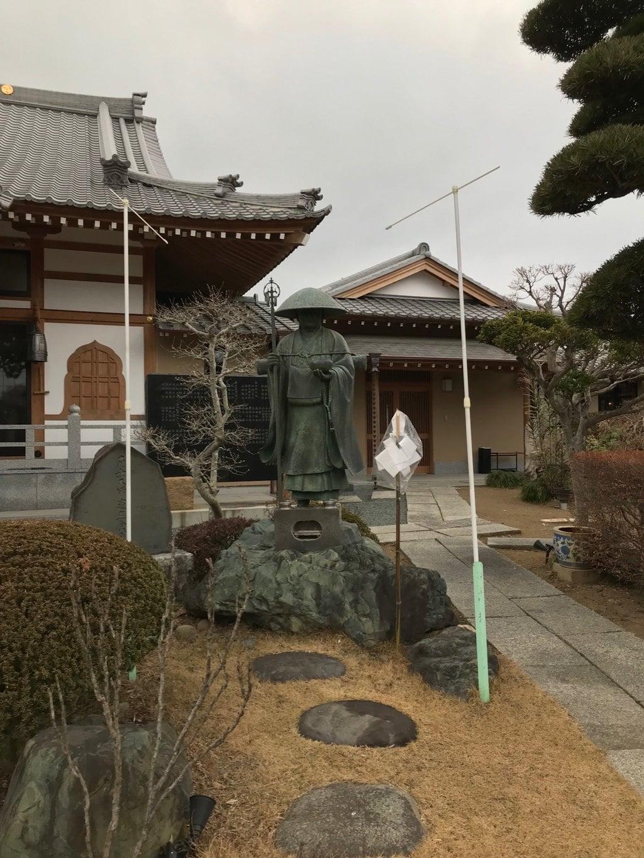 円照寺の像