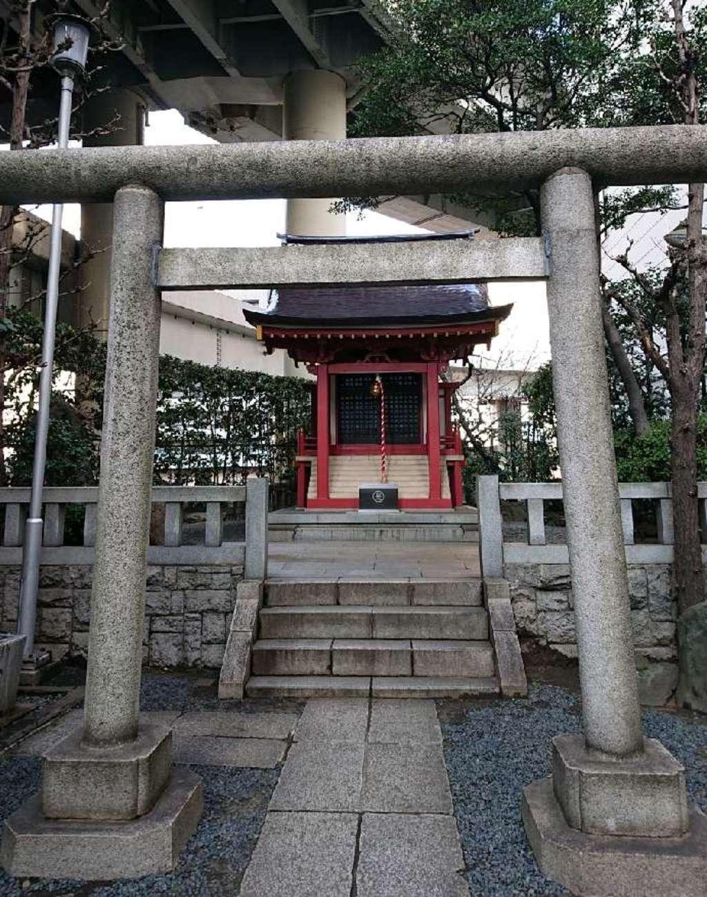 兜神社の鳥居