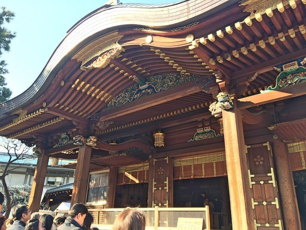 湯島天満宮の本殿