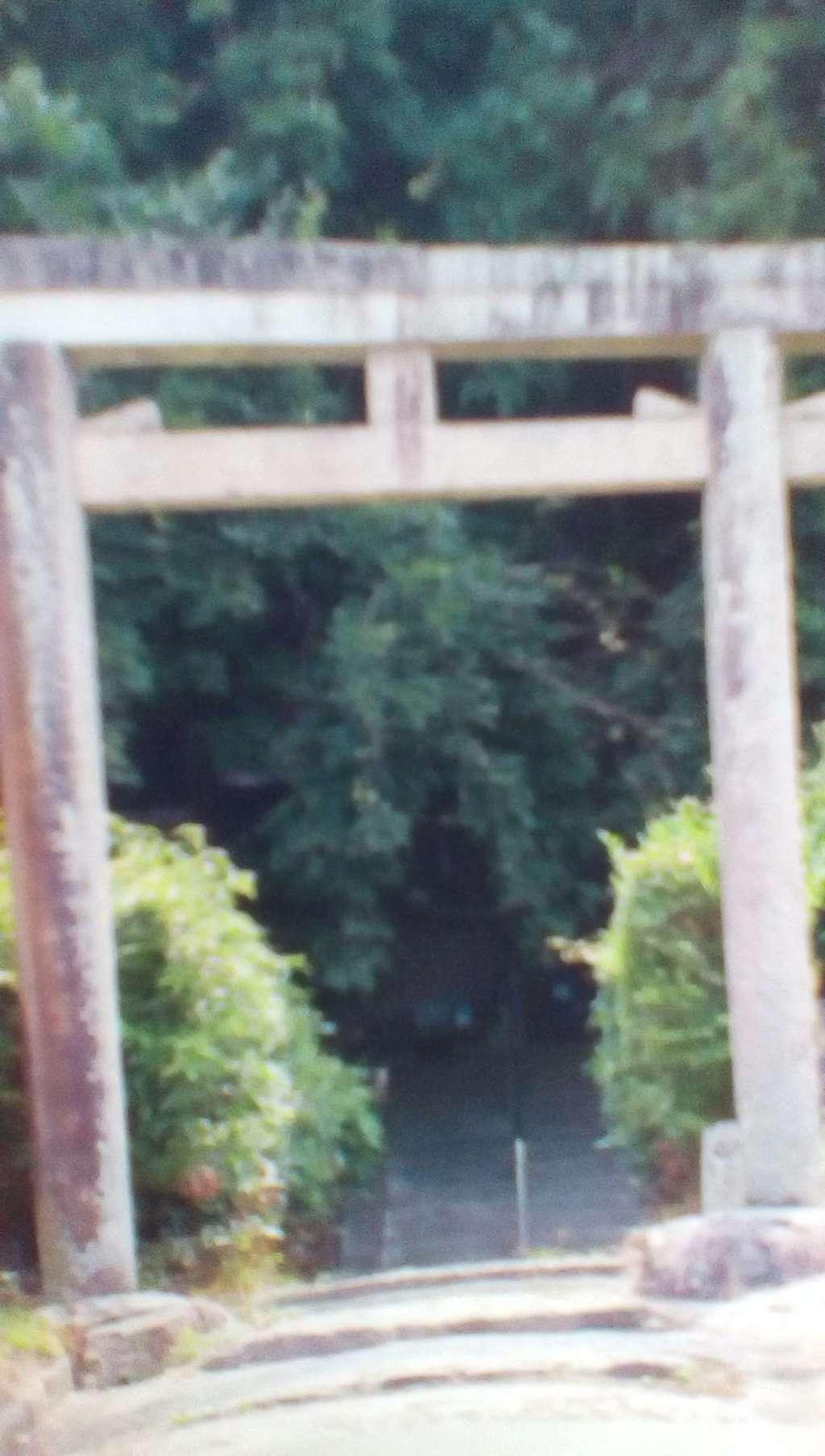 腰神神社の鳥居
