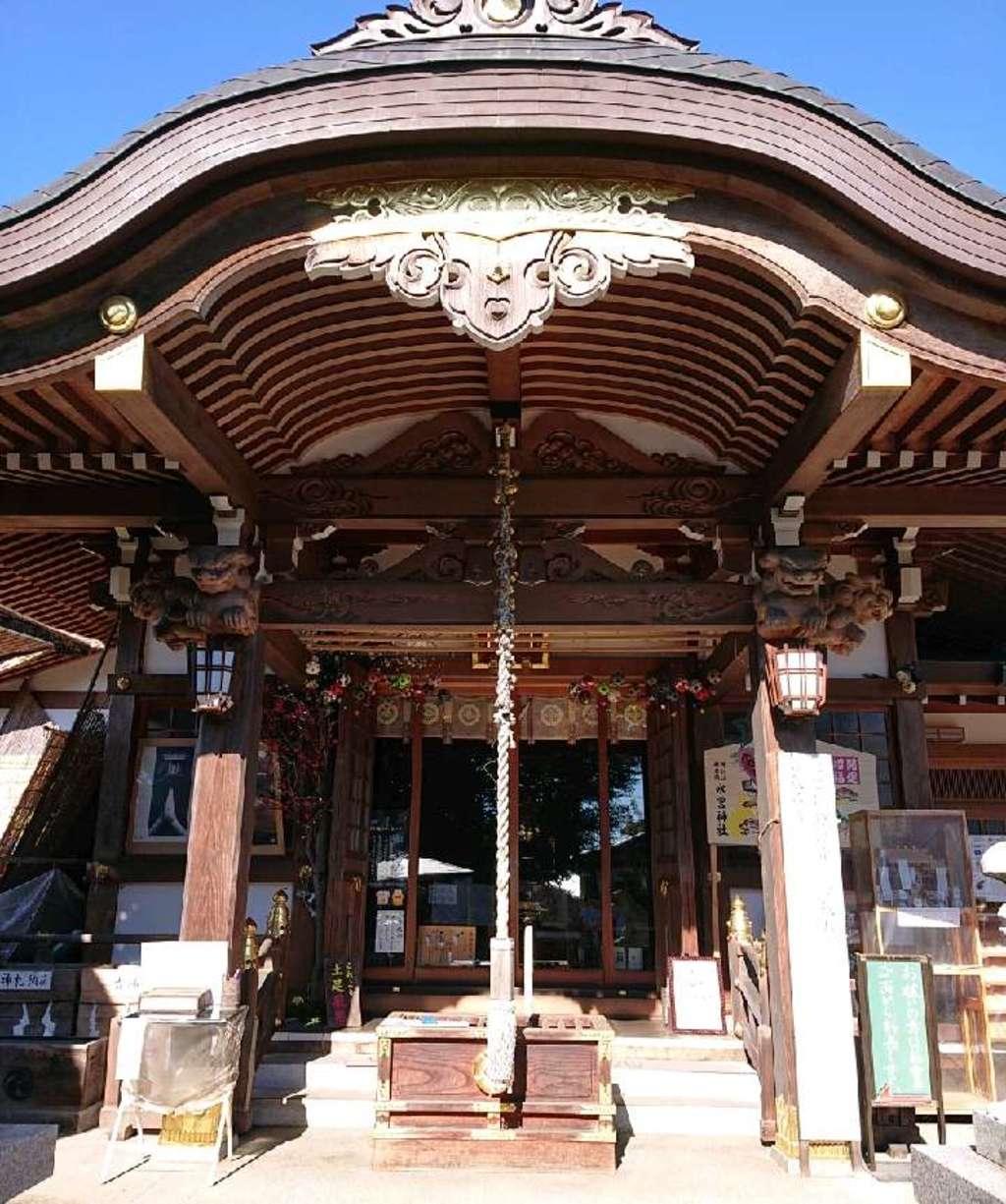 水宮神社の本殿