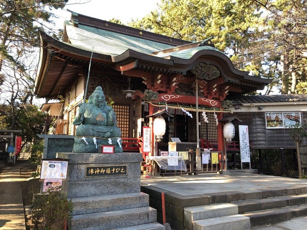 平塚三嶋神社の本殿