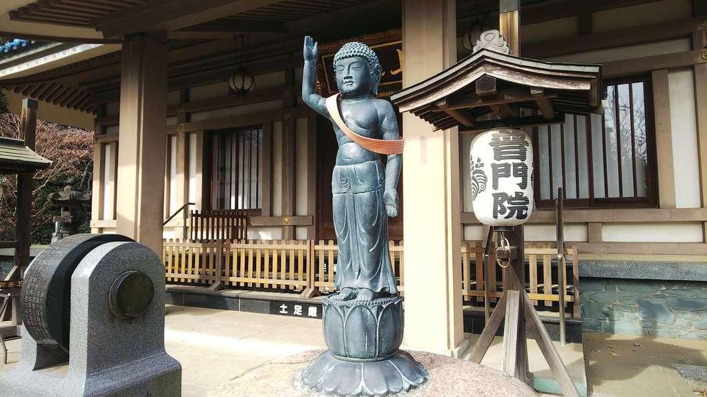 普門院の仏像