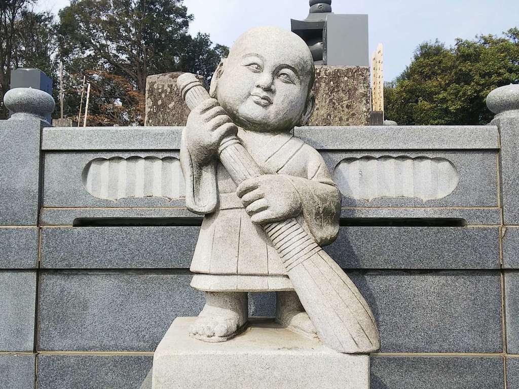 普門院の像