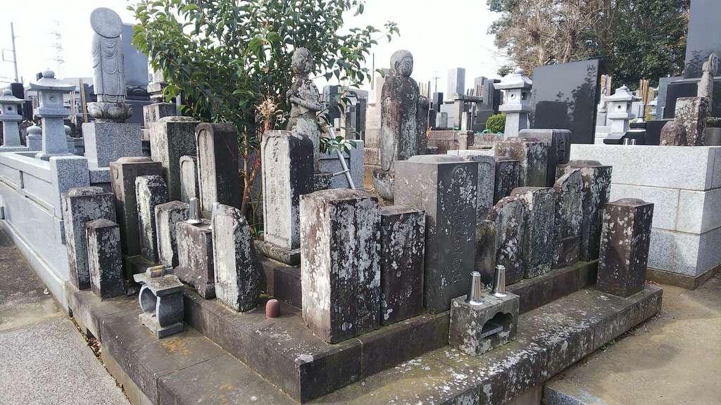 普門院のお墓