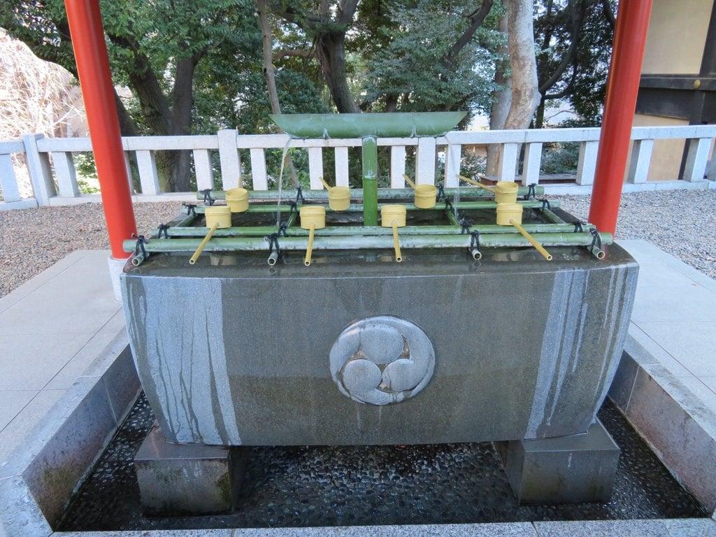 日枝神社の手水舎(東京都溜池山王駅)