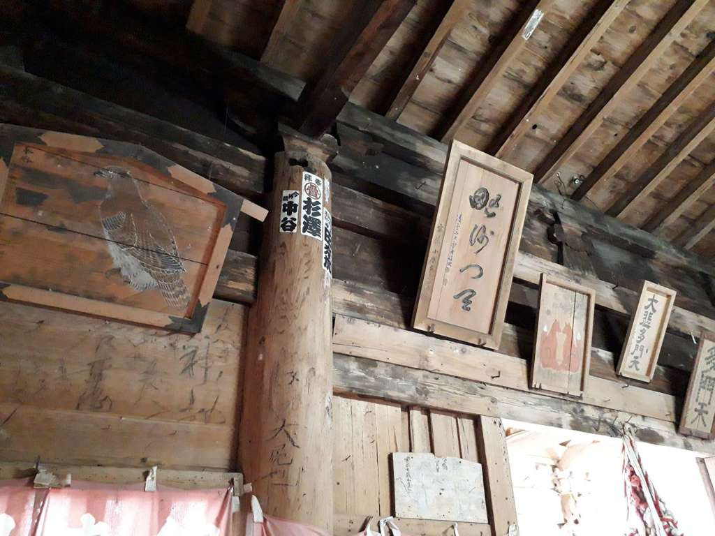 毘沙門堂の本殿・本堂(岩手県土沢駅)