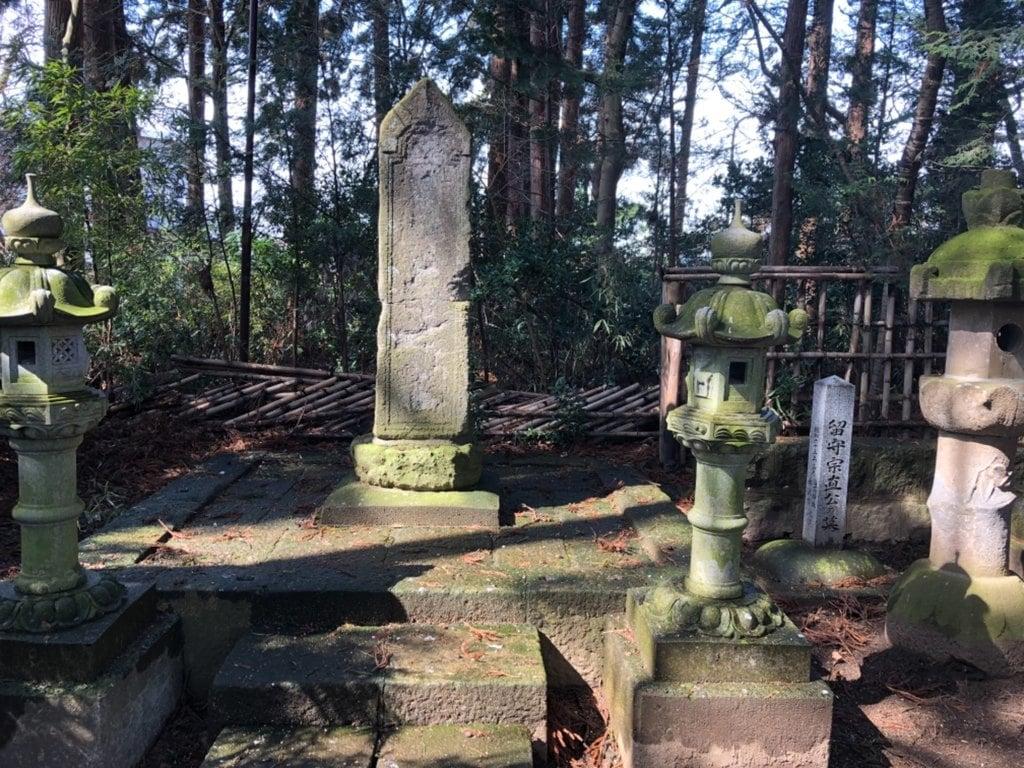 日高神社のお墓