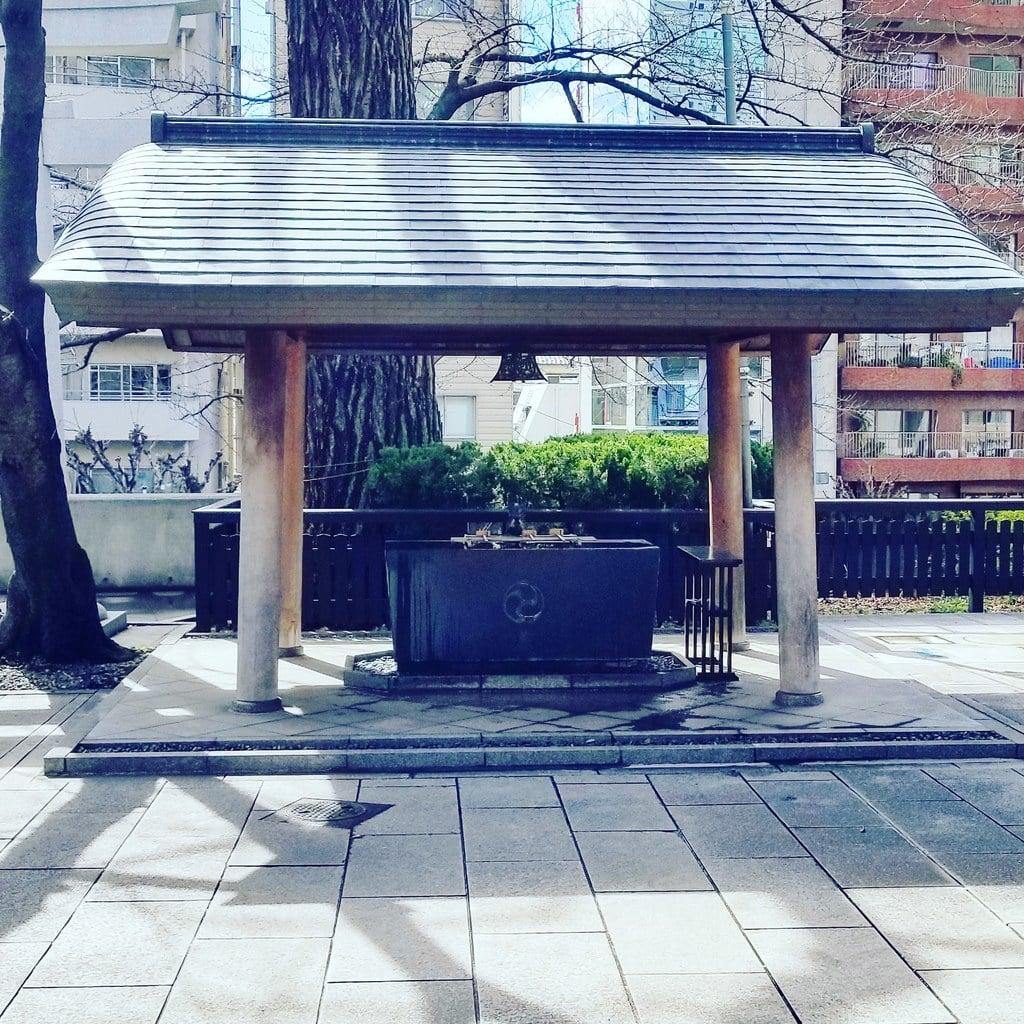 熊野神社の手水
