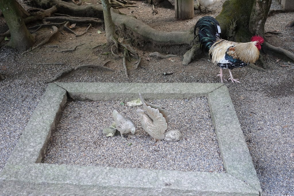 石上神宮の動物(奈良県天理駅)