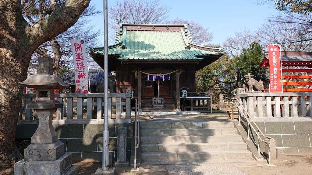 八幡神社(神奈川県京急久里浜駅)