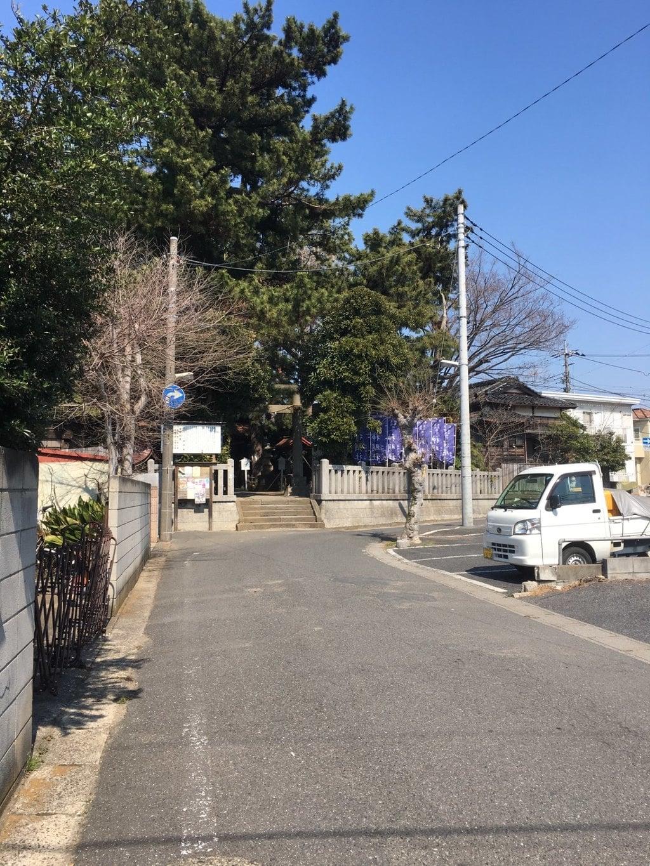 神明社の周辺(千葉県鬼越駅)